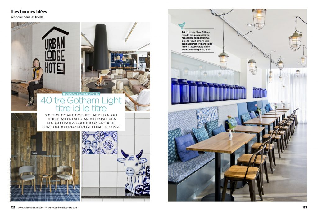 Article On Fig Urban Lodge On Maison Creative France Fig